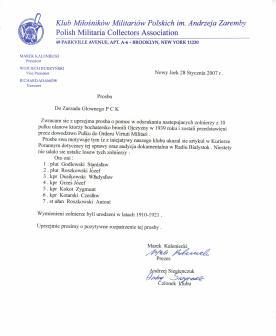 Pismo do PCK - 28.01.2007