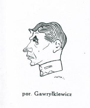 karykatura Jotesa 1925