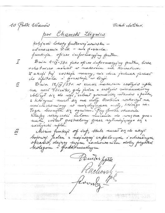 Wniosek na Virtuti Militari