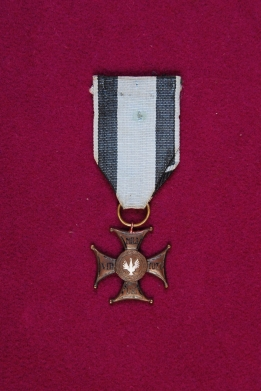 Order Virtuti Militari 5 klasy nr.3505 ppor.Arnoldt-Russocki Wiktor